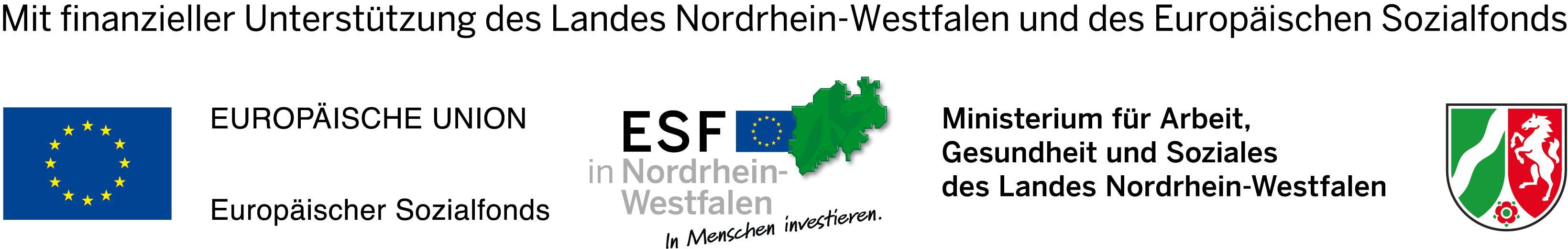 Europäischer Sozialfonds in Nordrhein-Westfalen